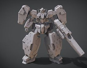 GN-005 Gundam Virtue 3D print model