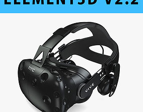 E3D - HTC Vive Deluxe Audio Strap model