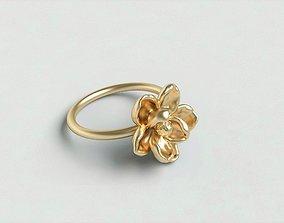 Magnolia ring1 3D printable model