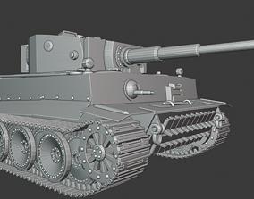 3D printable model Tiger Tanks