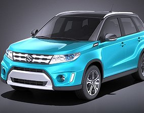 Suzuki Vitara 2017 VRAY 3D model