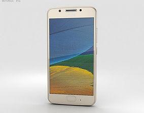 3D model Motorola Moto G5 Fine Gold