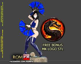 Kitana Mortal Kombat Action Figure Printable