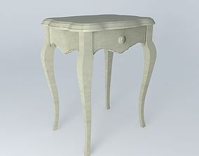 3D model Bedside gray HONORE