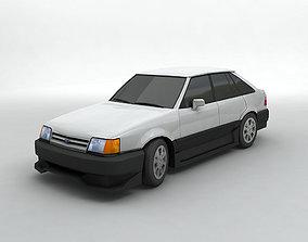 3D model 1986 Ford Escort