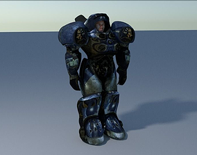 Marine Starcraft 3D asset