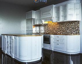 hob 3D model Kitchen Furniture VI