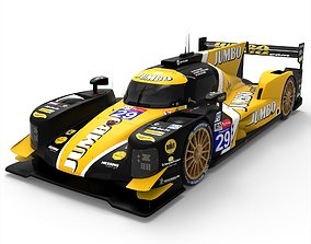 3D asset Dallara P217 - LMP2 WEC-ELMS