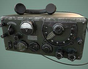 3D model Military radio