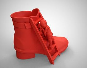 3D printable model Shoe Pot