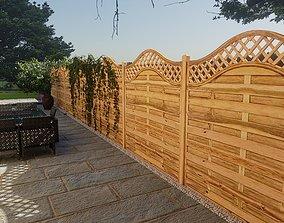 Paloma Garden Fence 3D model