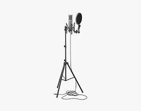 Rode Studio Microphone Stands with Filter 3D model