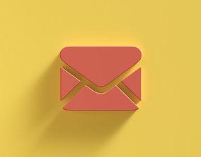 3D Web Icon Mail emoji