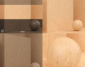 3D Wood material Pine seamless