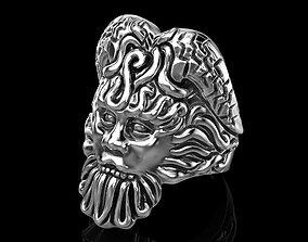 Poseidon Ring 3D print model