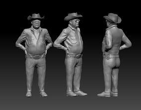 Human 3D printable model
