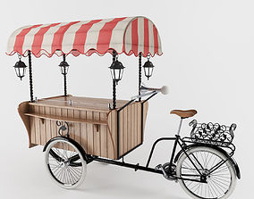 3D model Cargo Bike Milano