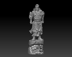 Guangong 3D print model oriental