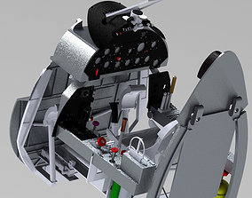 Corsair F4U cockpit For carf Model or other Corsair