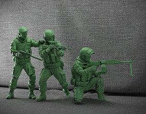 3D print model Soldiers Russian Federation constructor