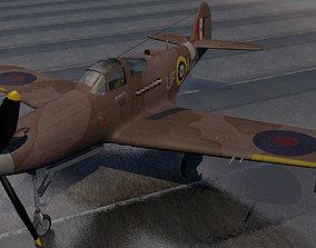 3D Bell Airacobra Mk-1