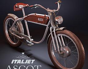 3D model Ascot Italjet Electric Bike