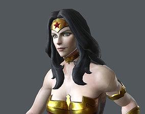 WOMN-005 Running 3D asset