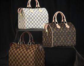 Louis Vuitton Speedy 25 Bag 3D model