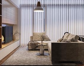 coronarenderer Apartment Scene 3D Model