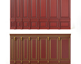 wooden panel 02 02 3D