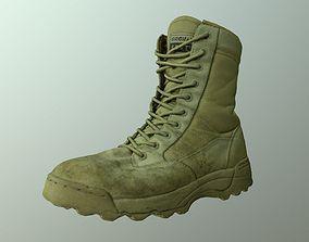 Military Boot 3D model