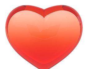 Heart Shape 3D asset