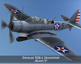 3D model Douglas TDB-1 Devastator