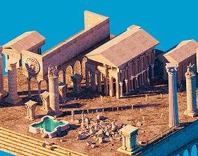 3D asset Ancient Fantasy Ruins - KIT