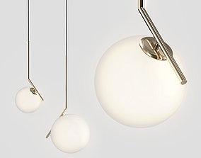 Lampatron Stem - Flos IC Lights Suspension 3D