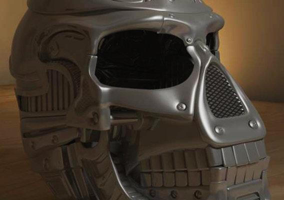 Robo Skull Render