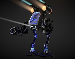 Robot 03 with Cockpit 3D model