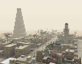 Middle Eastern Town 3D