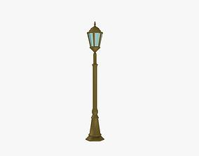 3D asset game-ready Streetlight