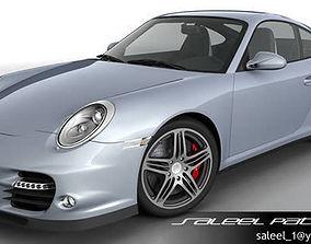 3D Porsche 911 Turbo 2012