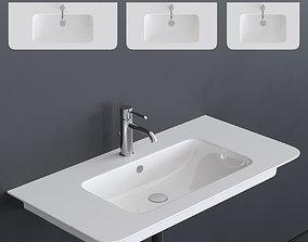 Ceramica Catalano Green Washbasin 3D asset
