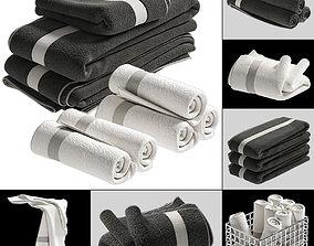 luxury 3D TOWELS