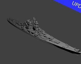US Alaska Class Cruiser Warship 3D printable model