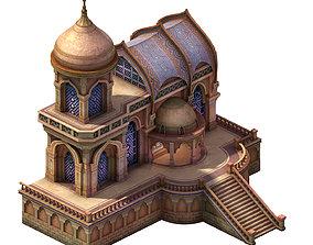 3D model Muslim - Desert Building store