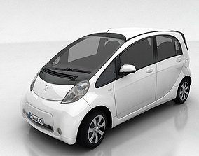 3D asset Peugeot ION