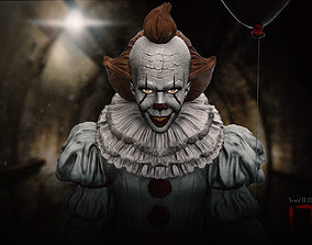 IT PennyWise The Clown Fan Art Printable Model