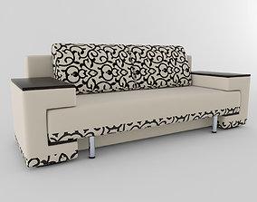 highpoly Sofa 3D