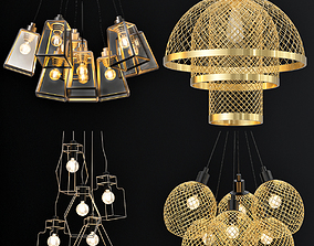 3D Pendant lamp collection