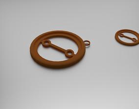 3D print model Oppositions Pendant