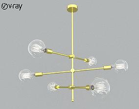 equipment Molecular Chandelier 3D model